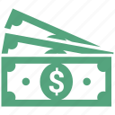 banknote, bill, cash, currency, dollar, money icon
