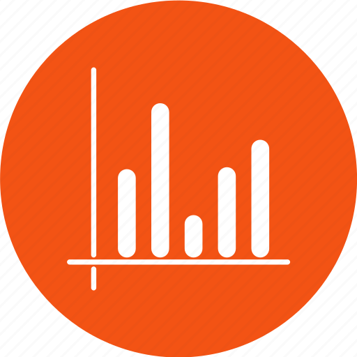 analytic, chart, data, growth icon