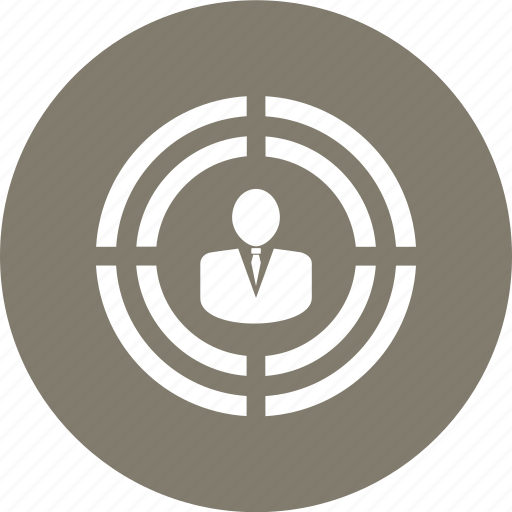 avatar, man, person, target, user icon