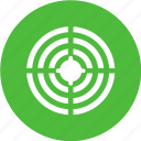 analytic, arrow, goal, pie, target icon