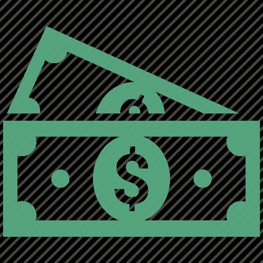 cash, currency, dollar, money icon