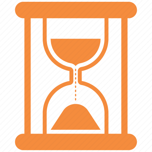 clock, hourglass, sand, time icon