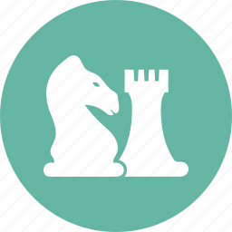 business, chess, strategy icon