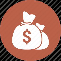bag, dollar, money icon icon