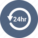 arrow, circle, history, refresh, time icon