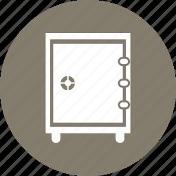 locker, money locker, safe, secure icon