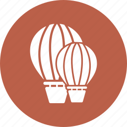 airballoon, amusement, city, recreation, transportation icon