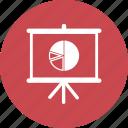 blackboard, education, math, pie chart, presentation