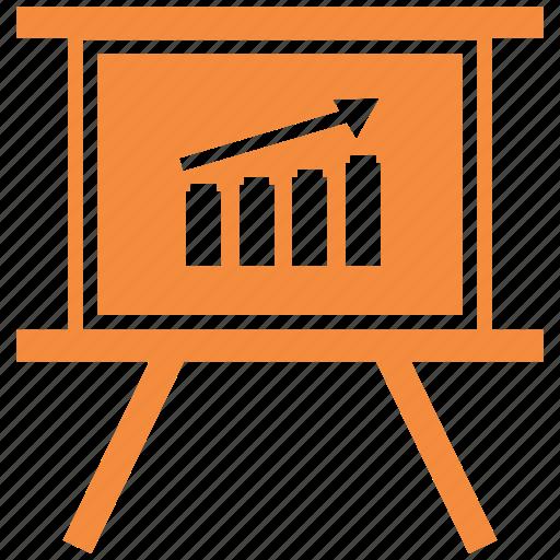 black board, board, growth chart, plank, school board icon