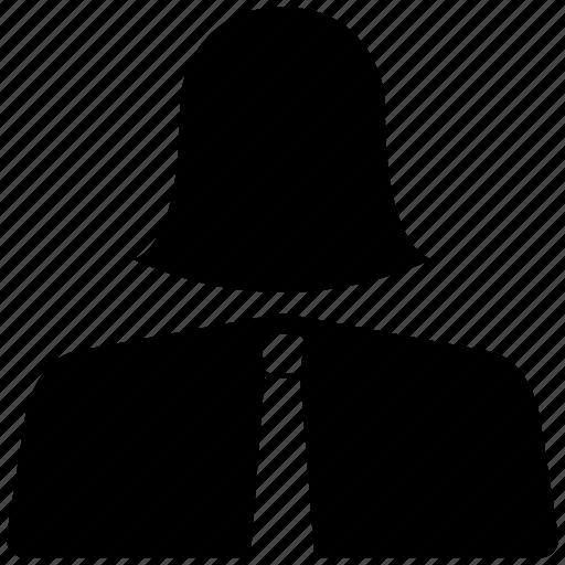account, avatar, female, person, profile, woman icon