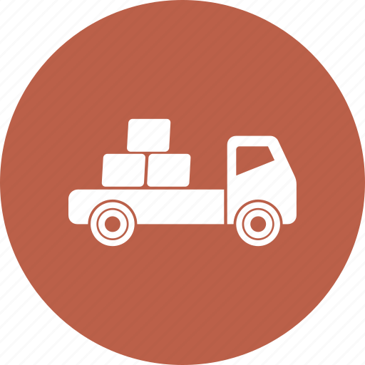deliver, shipping, truck icon