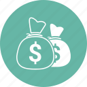 bag, dollar, money icon icon