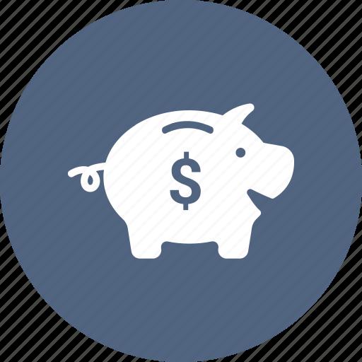 coins, money, pig, piggy icon
