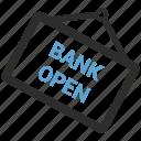 bank open icon