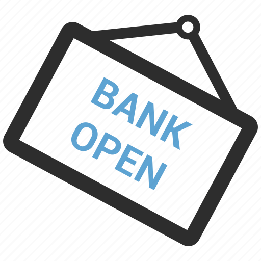 Bank open icon - Download on Iconfinder on Iconfinder