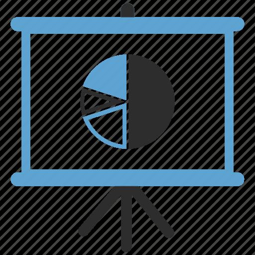 Blackboard, list, menu, pie chart icon - Download on Iconfinder