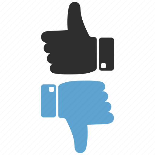 Dislike, like, thumbs, up, vote icon - Download on Iconfinder