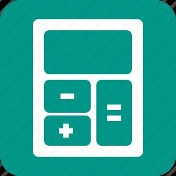 calculate, calculator, count, electronic, financial, mathematics icon
