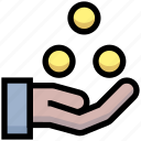 business, coins, currency, financial, money, payment icon
