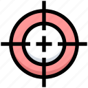 business, dashboard, financial, focus, goal, target icon