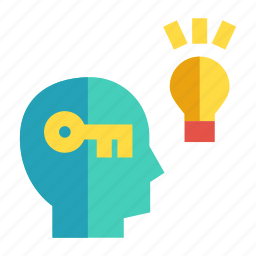 businessperson, entrepreneur, industrialist, solving, thinking icon
