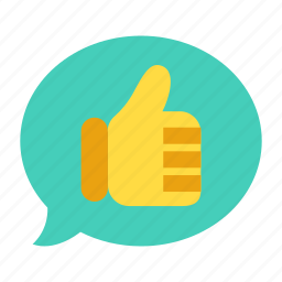 appoval, green light, guarantee, satisfaction, thumbs up icon
