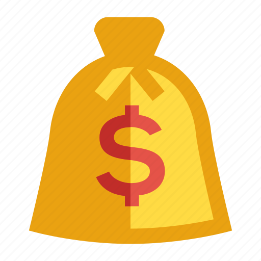 bank, business and finance, currency, dollar, money bag icon