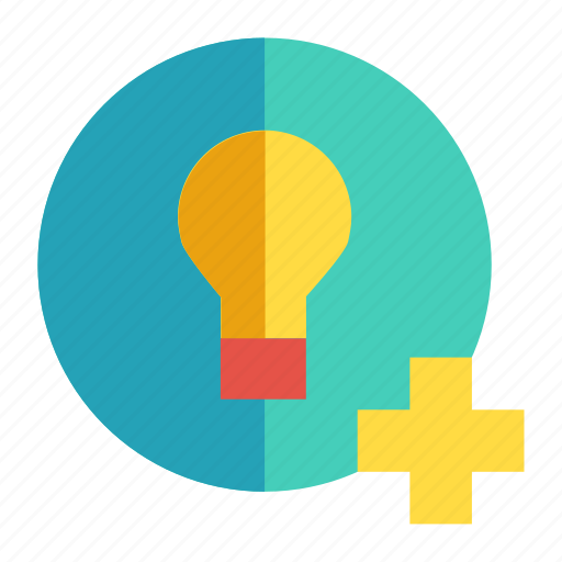 creativity, illumination, inspiration, light bulb, new idea icon