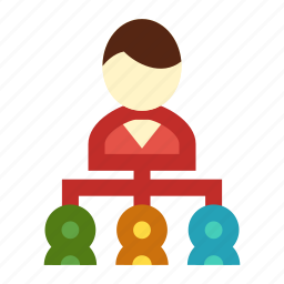 association, business, group, network, organization icon