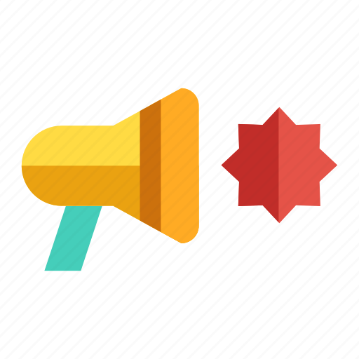 announcer, bullhorn, marketing, megaphone, promotion icon