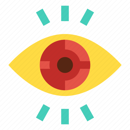 eye, optical, view, vision, visualization icon