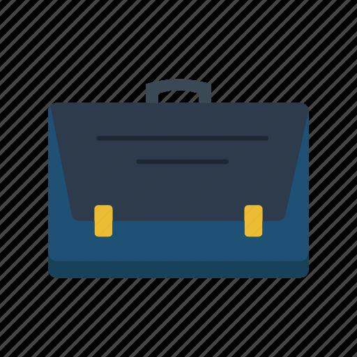 briefcase, business, information, management icon