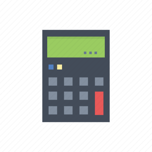 business, calculator, information, management icon