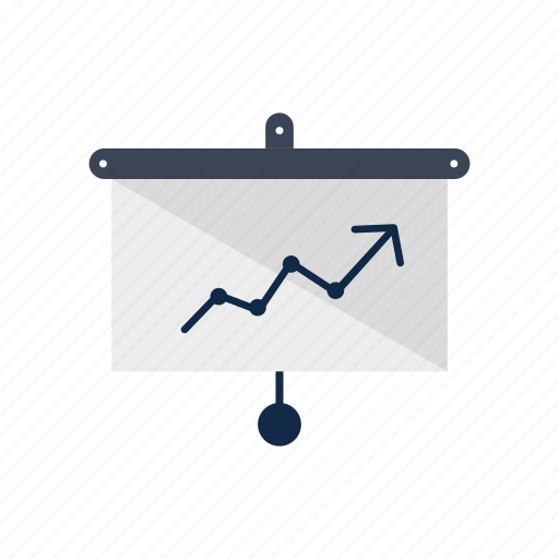business, chart, graph, information, management icon
