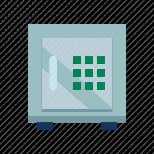 business, information, locker, management icon