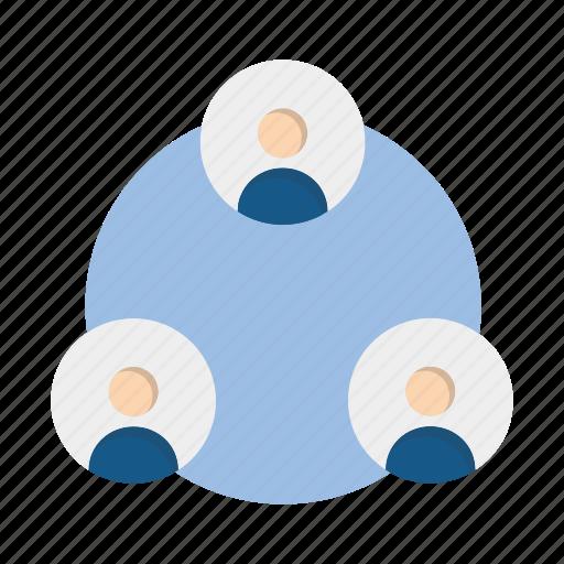 business, information, management, team icon