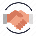business, deal, economics, ggreement, handshake icon