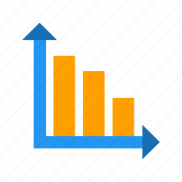 analysis, analytics, bar chart, graph, statistics icon