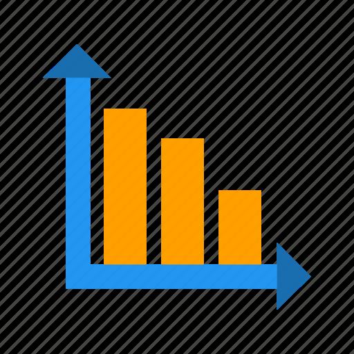 bar chart, perfomance, productivity icon