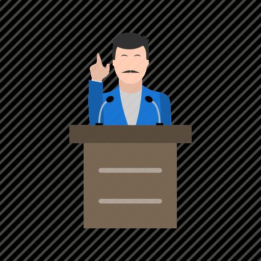 people, speak, speech icon
