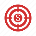 achievement, aim, dart, dartboard, goal, success, target icon