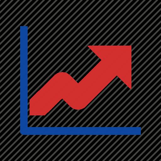 analysis, diagram, growth, presentation, statistics icon