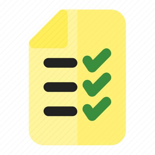 business, list, recuirement, task icon