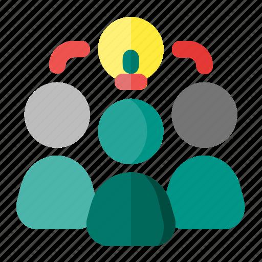 business, idea, teamwork, work icon