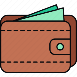 cash, currency, finance, funds, money, payment, wallet icon