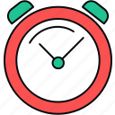 alarm, bell, clock, time, timepiece, timer, wait icon