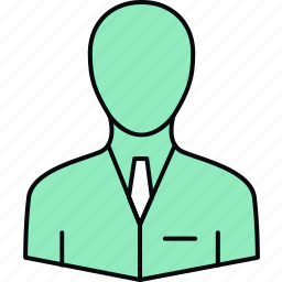 accountant, avatar, boss, businessman, employee, manager, person icon