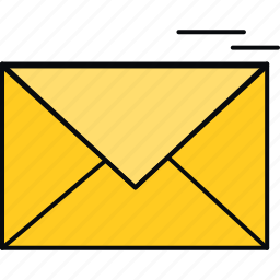 communication, email, envelope, inbox, letter, mail icon