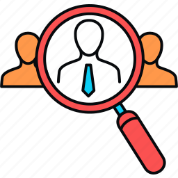 employee, find, search icon