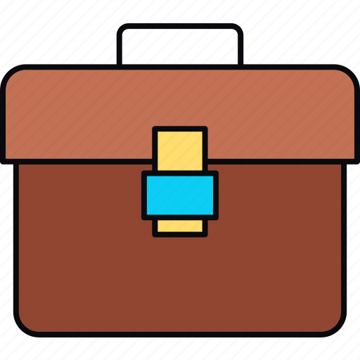 briefcase, business, folder icon